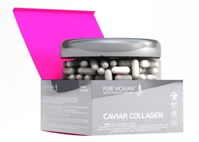 Pure Woman Caviar Collagen Kapseln - 120 Caps - Pure Woman