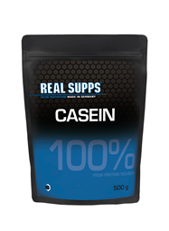 Real Supps 100% Casein - 500 g Beutel - REAL SUPPS