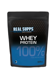 Real Supps 100% Whey Protein 500 g Beutel - REAL SUPPS