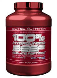 100% Hydrolyzed Beef Isolat Peptides 1800g Vanille - Scitec Nutrition®