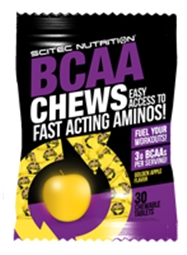 SCITEC BCAA Chews 30 Chewabe Tablets - Scitec