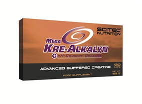 Mega Kre-Alkalyn - 120 Caps - Scitec Nutrition®