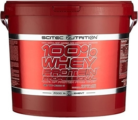 100% Whey Protein Professional - 5000g Vanille - Scitec Nutrition