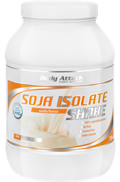 Soja Isolate Shake - 750 g Dose - Body Attack Sports Nutrition®