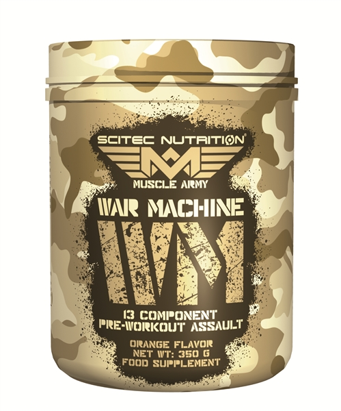 Scitec Nutrition Muscle Army War Machine