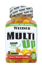 Weider Multi Up Vitamin Gummies 80 Stück - WEIDER